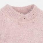 Пуловер с  перлички